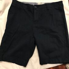 1897 Mens 32 Navy Zip Fly  Cargo Shorts