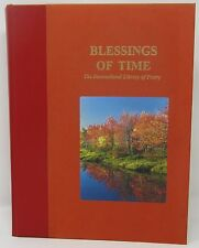 Blessings of Time International Library of Poetry Hardcover 2000 Meagher