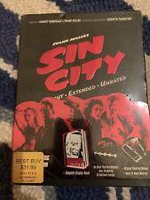 Frank Miller's Sin City Recut, Extended, Uncut 2 Discs Dvd + Graphic Novel
