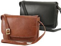 Visconti Ladies Soft Leather Handbag Organiser Cross Body Shoulder Bag - 03190