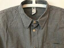 Margaret Howell Gris Comprobado Camisa Pequeña o POSS delgado medio Mhl