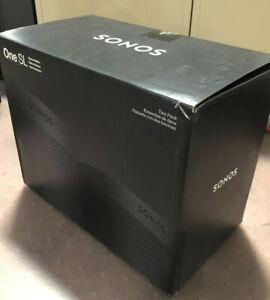 Sonos One SL Shadow Edition Wireless Speaker, Black - 2 Pack B2OSLUS1SDHB