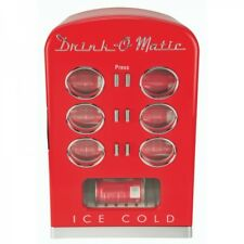 Retro Drinks Refrigerator Can Cooler Mini bar MCL5 Red (Box Defect) 32141