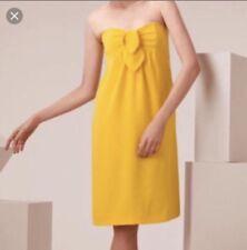 NWT Tory Burch Jada Yellow Strapless Dress Size 2