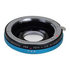 Fotodiox Objektivadapter Pro für Pentax K Linse für Nikon F Camera (Click)