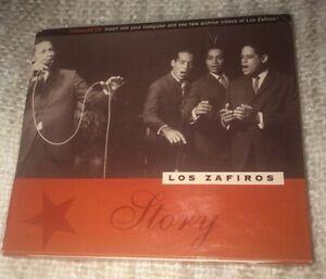 Zafiros Story by Los Zafiros (Enhanced CD w/ rare Achive Videos Ahi-Nama Records
