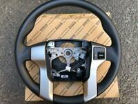 Toyota Land Cruiser Prado 150 Genuine Steering Wheel With Switch RHD OEM JDM