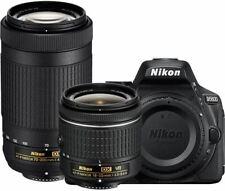 Nikon D5600 Digital SLR Camera with 18-55mm VR & 70-300mm DX AF-P Lenses - (Rene