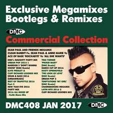 DMC Commercial Collection 408 Club Hits Mixes & Two Trackers DJ Triple Music CD