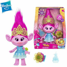 DreamWorks Singing Trolls Hug Time Poppy Action Figure Doll Light Movie Song Toy
