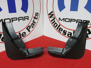 DODGE Challenger Front Black Plastic Rubber Splash Guard Mopar NEW OEM MOPAR