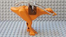 LEGO Earth Orange Kaadu / Gungan Beast, Star Wars With Saddle and Harness