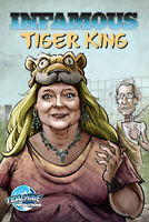 INFAMOUS TIGER KING #1 comic book VARIANT CAROLE BASKIN 50 Print run Numbered