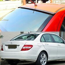 Unpainted FOR MERCEDES BENZ 08-13 C-Class W204 4DR Sedan RooF Sport Wing VIP