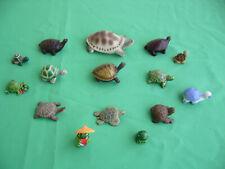 Lot de 15 tortues tailles et coloris différents