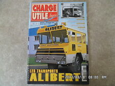 CHARGE UTILE N°131 11/2003 TPS ALIBERT CITROEN TYPE H CAR CHARVIS SAVIEM  K42