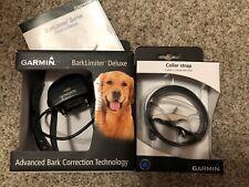 GARMIN Bark Limiter Auto Deluxe Model 010-11870-00 W/Extra NIB Collar Strap
