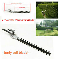 1*Garden Hedge Trimmer Cutter Lawn Mower Blade Teeth Hedge Brush Tools 24mm Tube
