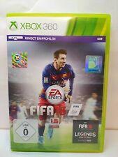 Fifa 16 - XBOX 360 - Spiel - Game - OVP