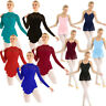 Womens Adults Lace Ballet Skating Leotard Dance Dress Ballroom Dancewear Costume