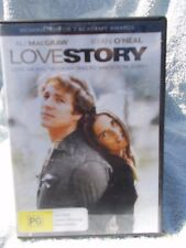 LOVE STORY RYAN O'NEIL,ALI MacGRAW DVD PG R4