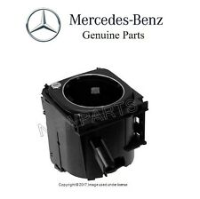 For MB W203 C-Class Rear Cup Holder in Center Console Push Button Type Genuine