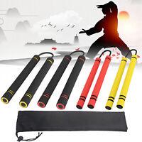 Karate Martial Arts Safety Foam Nunchakus Nunchucks Stick Training Fitness B5