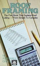 Roof Framing by Marshal Gross (1989, Paperback)