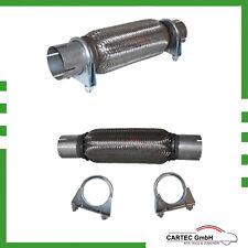 Flexrohr Interlock Ø55mm x 200/300mm + 2 Auspuffschelle