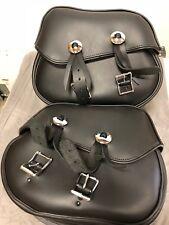 Kawasaki Maverick Leather Saddlebags ((K53000-149C)