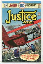 Justice Inc. #4 NM- Featuring The Avenger  DC Comics CBX 5