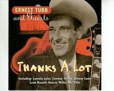 CD ERNEST TUBB & GUESTSthanks a lotEX (A3427)