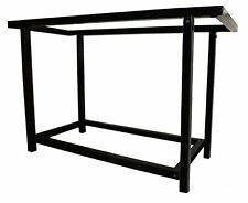 4' [1.2m] AQUARIUM FISH TANK STAND - BLACK POWDER-COATED or 304 STAINLESS STEEL