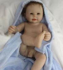 "20"" Vinile Doll Lifelike Reborn Baby boy Vinyl Kid playmate Bambole rinascere"