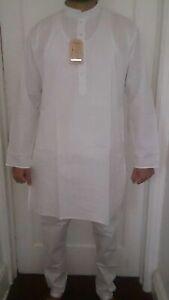 desi,India,Pakistan,kurta pajama,Yoga wear,White Kurta Churidar, Religious wear
