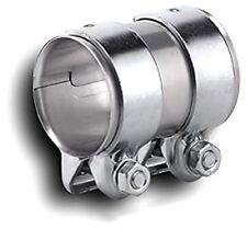 1 x Auspuff Rohrverbinder Ø  45 x 90 mm Schelle Doppelschelle Verbinder 898935 *