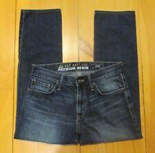 Old Navy Mens Jeans Micro Blue Premium Slim Blue Denim Medium Wash 30 x 30