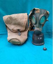 maschera antigas periodo guerra anni 40