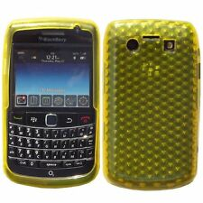 Hybrid Silicone Gel Honeycomb Pattern Case for BlackBerry Bold 9700