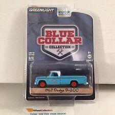 1967 Dodge D-200 * Greenlight * Blue Collar Series