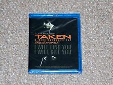 Taken 2-Disc Extended Cut Blu-ray 2009 Canadian Brand New