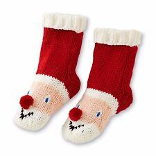 Joe Boxer Christmas Stocking Stuffer Men's Novelty Slipper Socks Santa 10-13