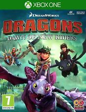 Dreamworks Dragons Dawn of the New Riders Xbox One EXCELLENT Condition KIDS Game