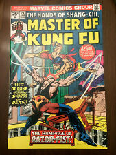 MASTER OF KUNG FU #29 1st Razor-Fist (1975) HIGH GRADE BRONZE AGE!!