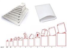 FEATHERPOST WHITE PADDED BUBBLE WRAP ENVELOPES POSTAL LITE MAIL BAGS. 10 x SIZES