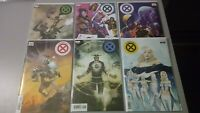 Powers of X 1 2 3 4 5 6  Huddleston / Decades / Character Variant Set Lot X-Men