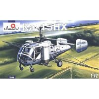 Amodel 72106 - 1/72 KA-15NH Agricultural Helicopter, scale plastic model kit