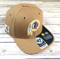 Washington Redskins NFL Carhartt X '47 Captain Hat Cap Adjustable Retired Logo