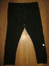 Womens Mpg athletic fitted capri pants M Md Med yoga gym
