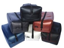 Waterproof Travel Bag Case Leather Vinyl Carbon Look DESIGN BY YOU!
